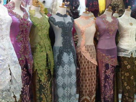 show new design kebaya modern 2011